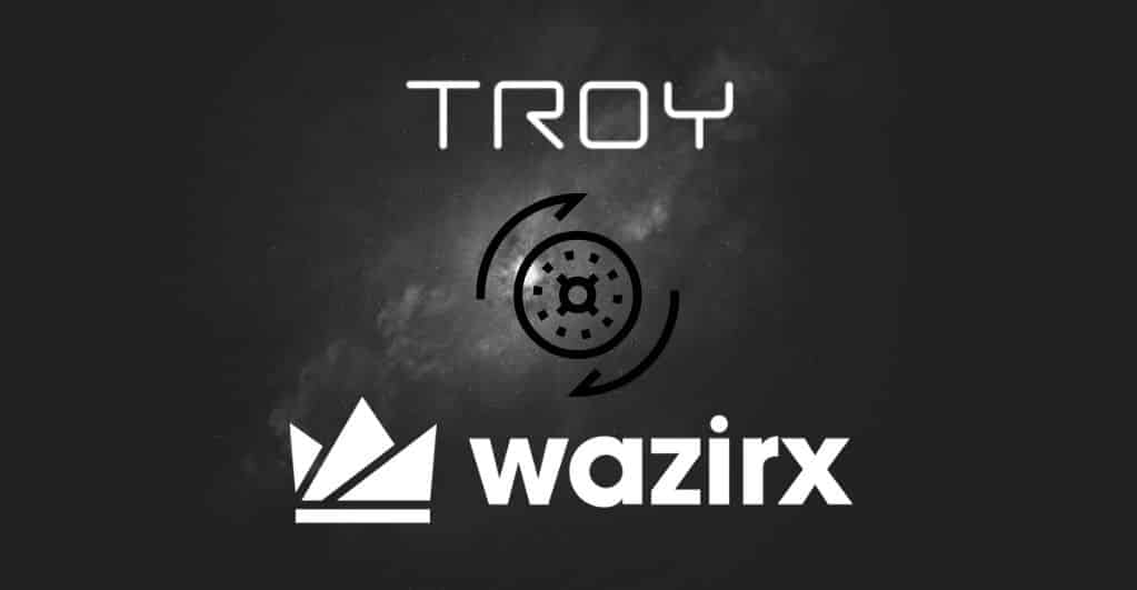 TroyTrade Collaborates With WazirX